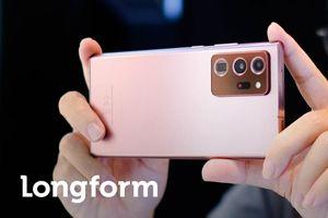 Galaxy Note20 Ultra 5G được bình chọn là smartphone tân tiến nhất