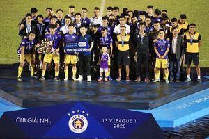 CLB Hà Nội quyết 'đòi' lại ngôi vô địch trong mùa giải mới