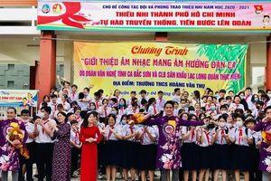 Nỗ lực đưa âm nhạc dân tộc vào học đường
