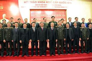 Hội thảo khoa học cấp quốc gia về bảo vệ nền tảng tư tưởng của Đảng