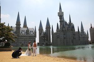 Trào lưu xây lâu đài xa hoa như cổ tích của người giàu Trung Quốc