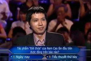 Người đầu tiên xác lập kỷ lục tại Ai Là Triệu Phú: Tham gia chương trình để 'chiều lòng vợ'