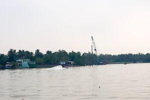 Tìm thấy thi thể đại úy công an trong vụ lật ca nô trên sông Hậu