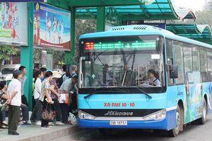 Phục hồi 16 tuyến buýt sau khi thông xe trở lại cầu Thăng Long