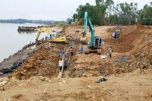 Quảng Nam: Bến thủy xây trái phép trên sông Thu Bồn
