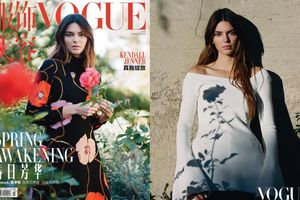 Chân dài triệu đô Kendall Jenner bị chê kém sắc trên bìa tạp chí Vogue China