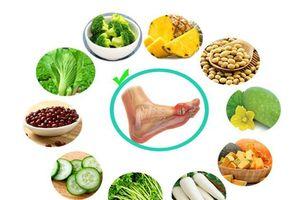 Những cách kiểm soát bệnh gút không cần thuốc