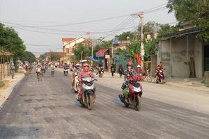 Mở rộng tuyến đường đi Yên Giang - thị trấn Thống Nhất - Yên Tâm