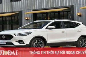 Né mác 'xe Tàu' MG ZS mới sẽ được nhập khẩu từ Thái Lan
