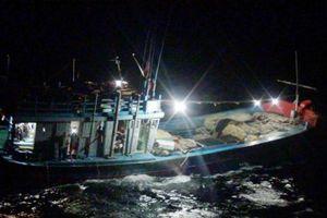 Tàu 628, Vùng 3: Cứu thành công tàu cá Quảng Ngãi gặp nạn