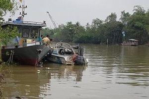 Tìm thấy thi thể CSGT bị nước cuốn trong lúc tuần tra trên sông Hậu