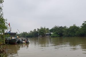 Lật ca nô tuần tra ở Vĩnh Long: Tìm thấy thi thể Đại úy mất tích