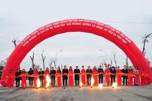 Hà Nội: Thông xe tuyến đường khu đô thị Trâu Quỳ - Phú Thụy