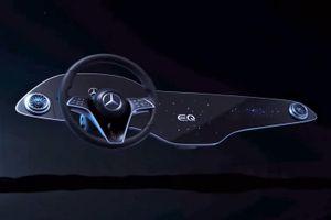 Xe Mercedes-Benz sẽ có bảng điều khiển rộng 56 inch