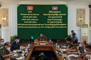 Campuchia - Việt Nam hợp tác quốc phòng vì lợi ích của nhân dân hai nước