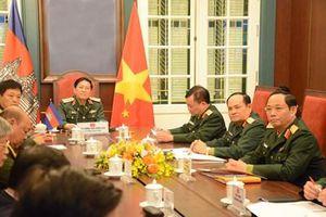 Tiếp tục thúc đẩy hợp tác quốc phòng Việt Nam-Campuchia