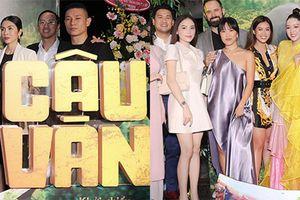 Vợ chồng Tăng Thanh Hà dự ra mắt phim có Băng Di