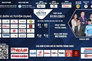 Job Fair 2021 - Ngày hội việc làm Trường Đại học Luật Hà Nội