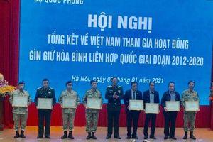 Tổng kết thành tựu Việt Nam tham gia hoạt động gìn giữ hòa bình Liên hợp quốc giai đoạn 2012-2020