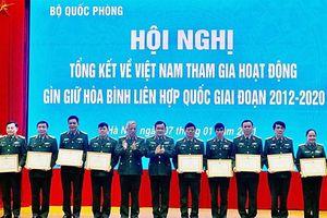 Liên hợp quốc đánh giá cao Lực lượng gìn giữ hòa bình Việt Nam