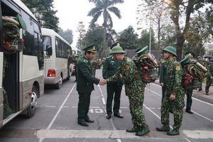 460 cán bộ, học viên Học viện Biên phòng lên đường phòng, chống dịch Covid-19 trên các tuyến biên giới