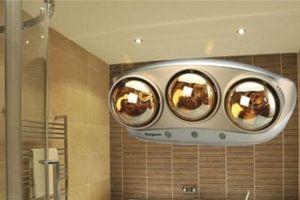 Sử dụng đèn sưởi trong nhà tắm như thế nào cho an toàn?