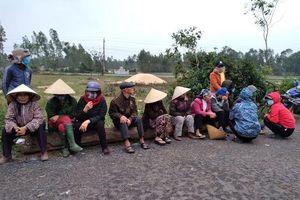 Quảng Bình: Dân ngăn hoạt động khai thác cát vì lo ô nhiễm môi trường