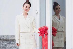 Hoa hậu Huỳnh Vy tậu biệt thự mới