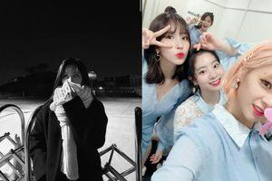 Một bức hình của TWICE mà fan hoang mang xướng tên 3 thành viên. Đến Mina còn chẳng phân biệt nổi