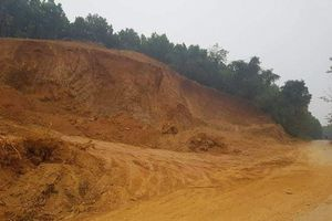 Thường Xuân - Thanh Hóa: Chính quyền địa phương làm ngơ cho khai thác đất trái phép hoành hành