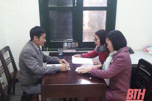 Huyện Thạch Thành nâng cao chất lượng công tác thẩm định văn bản