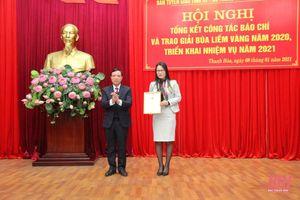 Báo Thanh Hóa có 10 tác phẩm đạt Giải Búa liềm vàng cấp tỉnh