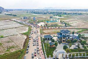 'Sốt' đất nền tại Đông Tân khi có nghị quyết thành lập phường