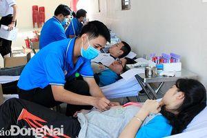 Vận động hiến 240 đơn vị máu tại Lễ hội xuân hồng và Chủ nhật đỏ