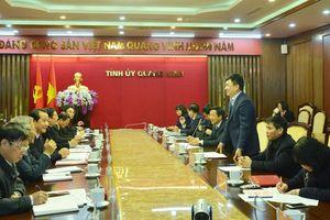 Đoàn công tác tỉnh Vĩnh Phúc làm việc với tỉnh Quảng Ninh