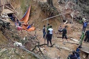 Đánh sập các hầm vàng trong Vườn quốc gia Sông Thanh