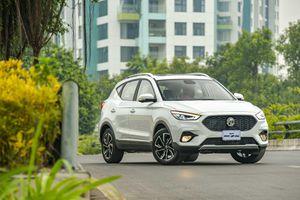 SUV MG ZS 2021 ra mắt thị trường Việt Nam, giá từ 569 triệu đồng