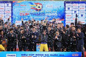 CLB Hà Nội lần thứ 4 đoạt Siêu cúp