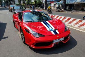 Ferrari 458 Speciale độc nhất Việt Nam trở lại với màu sơn nguyên bản