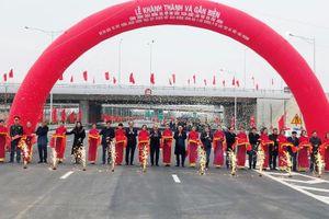 Thủ tướng cắt băng thông xe nút giao Vành đai 3 - Cao tốc Hà Nội - Hải Phòng