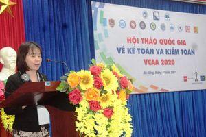 13 Trường Đại học tổ chức hội thảo quốc gia về kế toán – kiểm toán