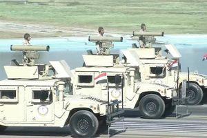 Ngạc nhiên xe Humvee Mỹ mang tên lửa Kornet Nga