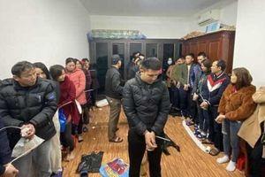 Triệt phá sới bạc ở Nghệ An bắt giữ hàng chục đối tượng cộm cán
