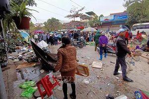 'Xe điên' lao vào chợ, 10 người bị thương tại Hải Phòng