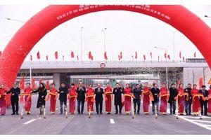 Khánh thành nút giao Vành đai 3 với cao tốc Hà Nội - Hải Phòng