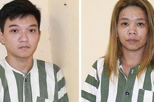 Đôi nam nữ trộm 11 xe máy ở Trà Vinh