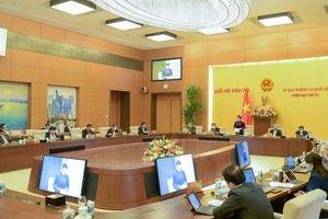Chuẩn bị cho ý kiến Dự thảo báo cáo công tác nhiệm kỳ của Chủ tịch nước