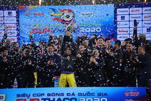 Thắng Viettel 1-0, Hà Nội giành Siêu cúp quốc gia lần thứ tư