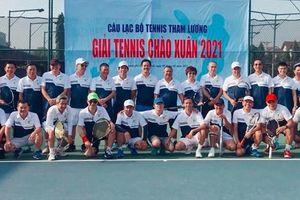 Giải Quần vợt Tham Lương chào năm mới 2021