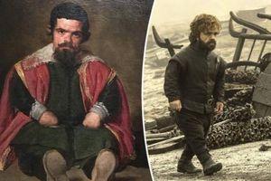 'Chàng lùn' Peter Dinklage được khen giống nhân vật trong tranh